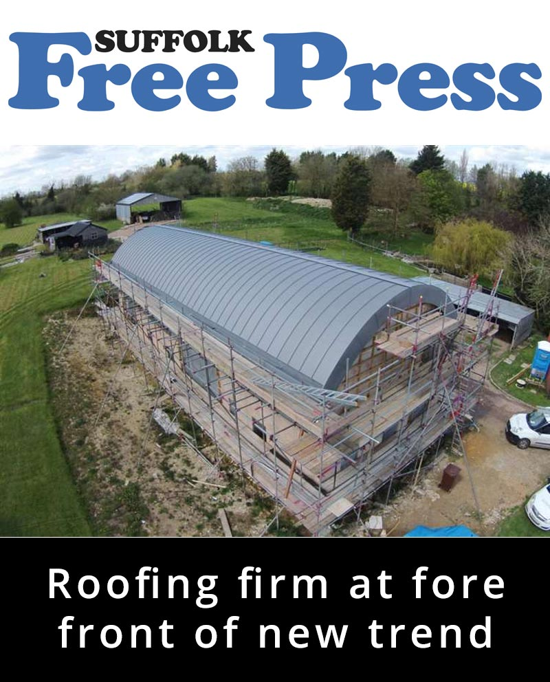 Roofing firm at fore front of new trend