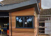 Cedar Cladding 4, ELC Roofing, Sudbury, Ipswich, Saffron Walden