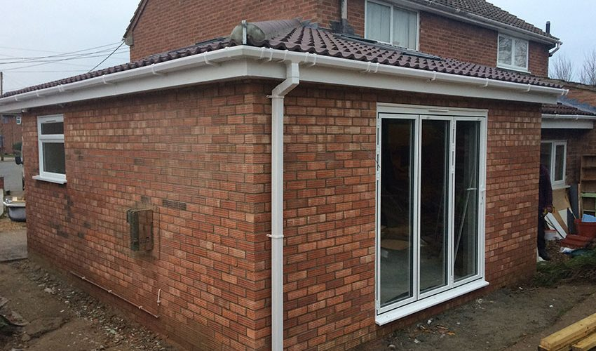 roofing extension for flat and pitched roofs