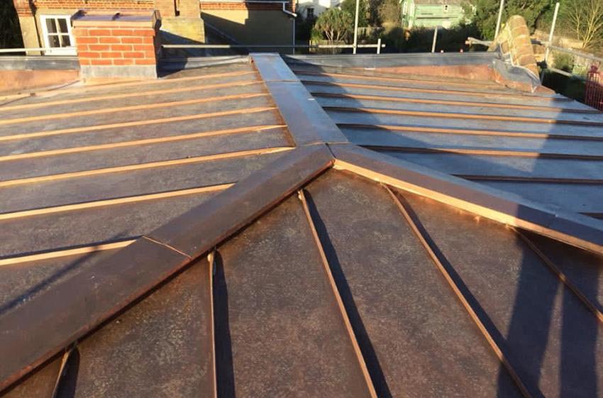 Copper, ELC Roofing, Sudbury, Ipswich, Saffron Walden