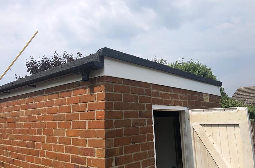 single ply flat roof repair