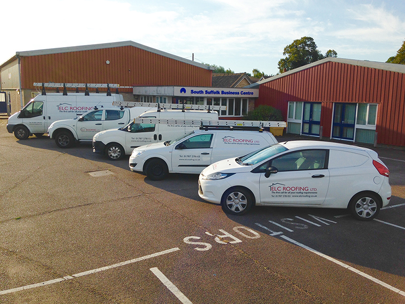 ELC Roofing, Ipswich Office