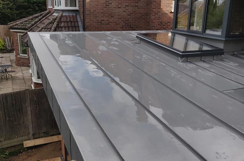 Zinc 13, ELC Roofing, Sudbury, Ipswich, Saffron Walden