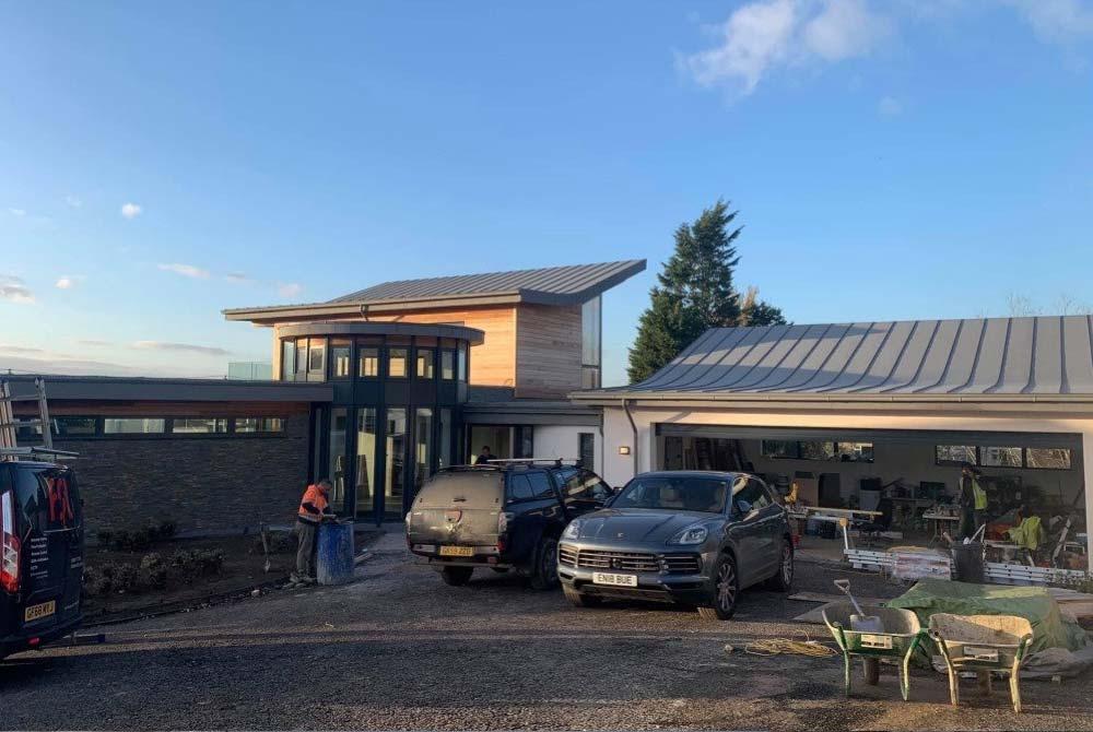 Single Ply Flat Roof - Wickham Bishops